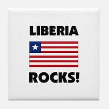Liberia Rocks Tile Coaster