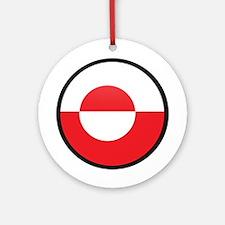 Greenland Ornament (Round)
