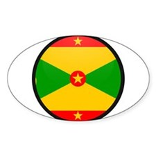grenada Oval Decal