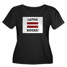 Latvia Rocks T