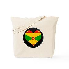 I love grenada Flag Tote Bag