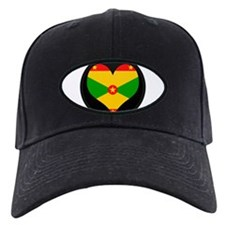 I love grenada Flag Baseball Hat