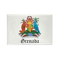Grenadian Coat of Arms Seal Rectangle Magnet