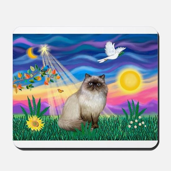 Twilight / Himalayan Cat Mousepad