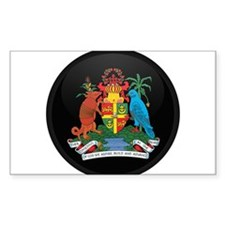 Coat of Arms of grenada Rectangle Decal
