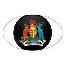 Coat of Arms of grenada Oval Decal