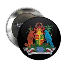 """Coat of Arms of grenada 2.25"""" Button"""