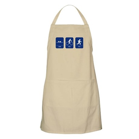 Triathlon BBQ Apron