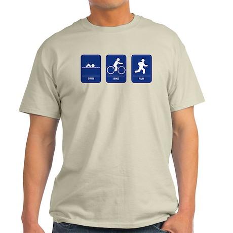 Triathlon Ash Grey T-Shirt