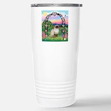 Rose Arbor / Himalayan Cat Travel Mug