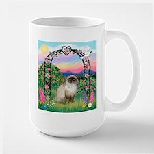 Rose Arbor / Himalayan Cat Mug