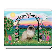Rose Arbor / Himalayan Cat Mousepad