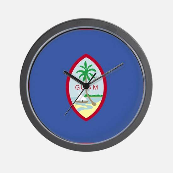 Guamanian Wall Clock