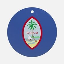 Guamanian Ornament (Round)