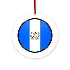 Guatemala Ornament (Round)