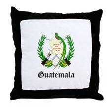 Guatemalan Coat of Arms Seal Throw Pillow
