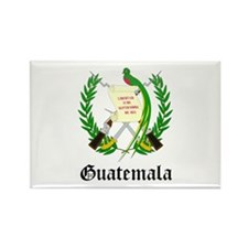 Guatemalan Coat of Arms Seal Rectangle Magnet