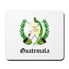Guatemalan Coat of Arms Seal Mousepad