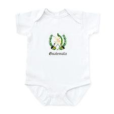 Guatemalan Coat of Arms Seal Infant Bodysuit