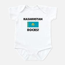 Kazakhstan Rocks Infant Bodysuit