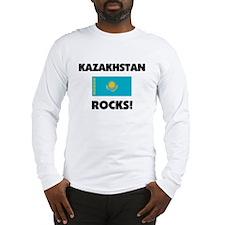 Kazakhstan Rocks Long Sleeve T-Shirt