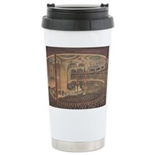 Currier & Ives Reproduction Travel Mug