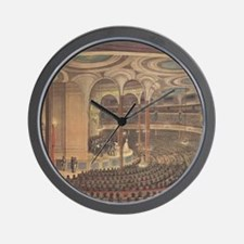 Currier & Ives Reproduction Wall Clock
