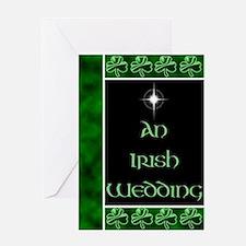 An Irish Wedding Greeting Card
