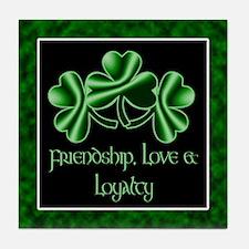An Irish Wedding Tile Coaster
