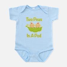 2 Girls Peas In A Pod Body Suit