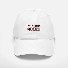 claude rules Baseball Baseball Cap