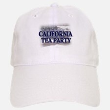 California Tea Party Baseball Baseball Cap