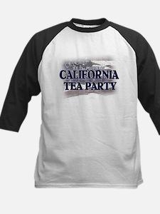 California Tea Party Kids Baseball Jersey