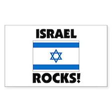Israel Rocks Rectangle Decal