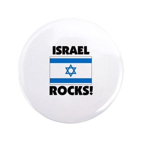 "Israel Rocks 3.5"" Button"