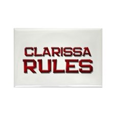 clarissa rules Rectangle Magnet