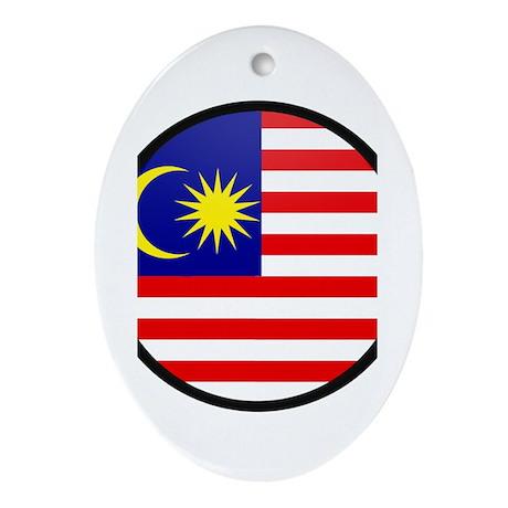 malaysia Oval Ornament