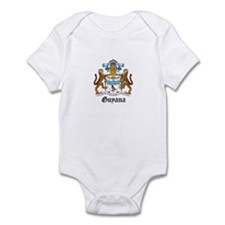 Guyanese Coat of Arms Seal Infant Bodysuit