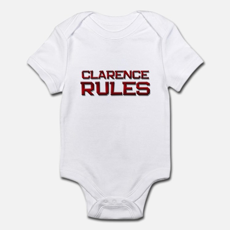 clarence rules Infant Bodysuit