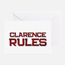 clarence rules Greeting Card