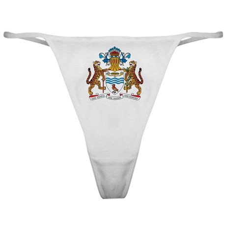 guyana Coat of Arms Classic Thong
