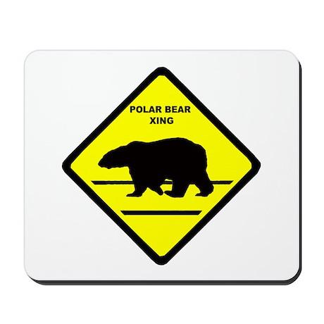 Polar Bear Xing Mousepad