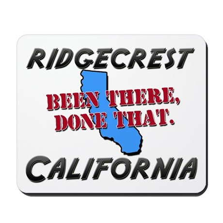 ridgecrest california - been there, done that Mous