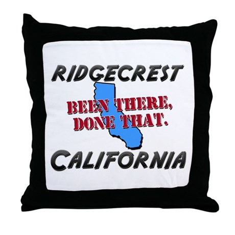 ridgecrest california - been there, done that Thro