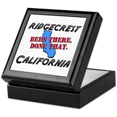 ridgecrest california - been there, done that Keep