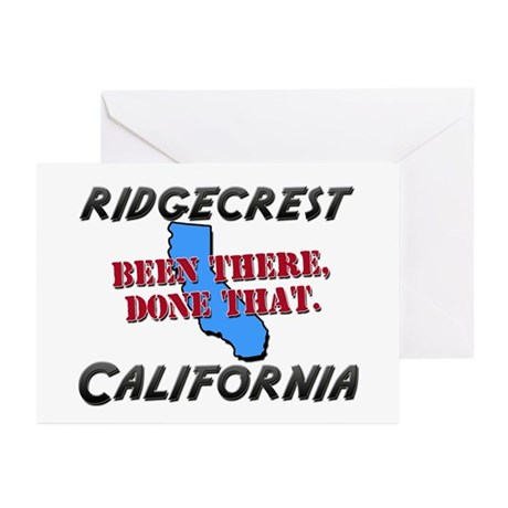 ridgecrest california - been there, done that Gree
