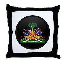 Coat of Arms of Haiti Throw Pillow