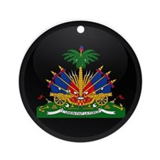 Coat of Arms of Haiti Ornament (Round)