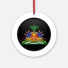 Coat of Arms of Haiti Ornament (Round)