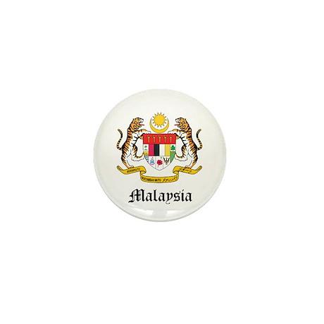 Malaysian Coat of Arms Seal Mini Button
